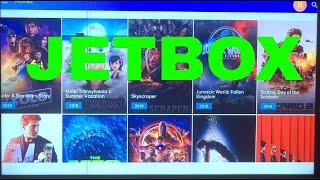 Jetbox/ Terrarium tv/ Movie Box Red