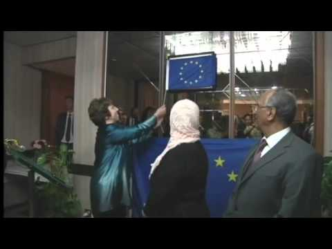 Catherine Ashton inaugarates EU office in Benghazi