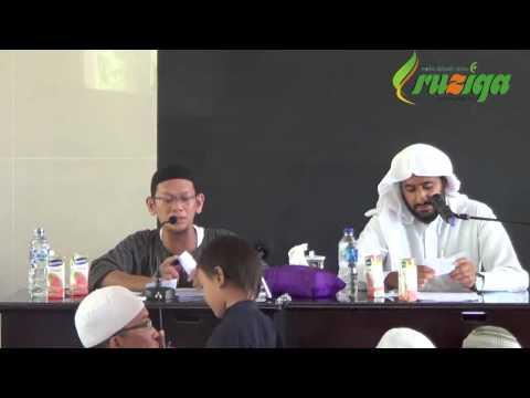 Ust.Nurul Azmi & Syaikh DR Muhammad Salim An Numan - Bagaimana Mencintai Allah Dan Rosulnya II