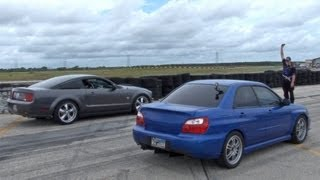 600HP Subaru GETTIN IT @ Powercruise Houston