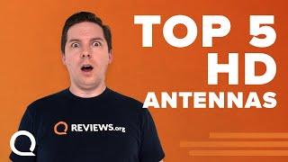 Top 5 HD Antennas (indoor) | ClearStream, Vansky, Mohu, & More.