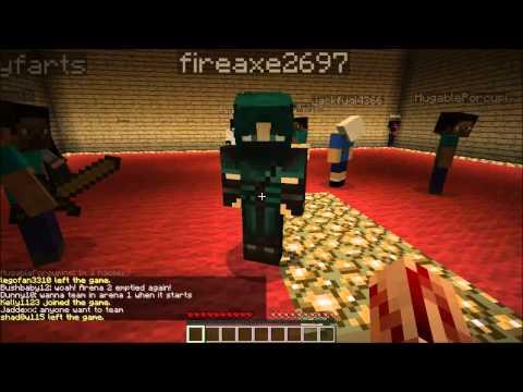 (SERVER NO LONGER RUNNING) Minecraft Survival Games! -- GLG Craft