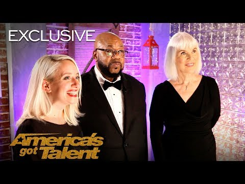 Angel City Chorale Chats About Their Rain Storm In 'Africa' - America's Got Talent 2018