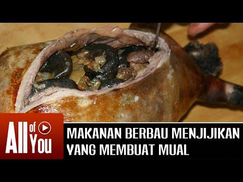 [MUNTAH] Makanan ini Mempunyai Bau Menjijikkan yang Membuat Mual