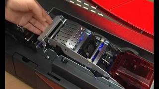 Impresora Securion Evolis para credenciales de identificacion holograma y seguridad