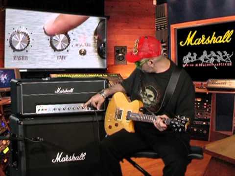 Judge Fredd &  l'ampli de Slash Marshall AFD100 (La Boite Noire)