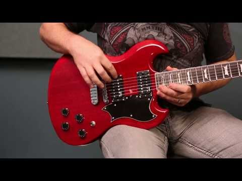 Dean Guitars Product Demo! The Dean Gran Sport Electric Guitar!