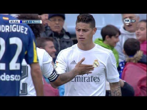 James Rodriguez vs Getafe Away (16/04/2016) by JamesR10™