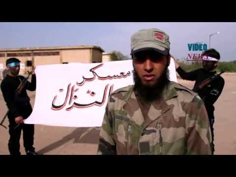 Syrian Opposition's Military Training Camp against Assad regime forces