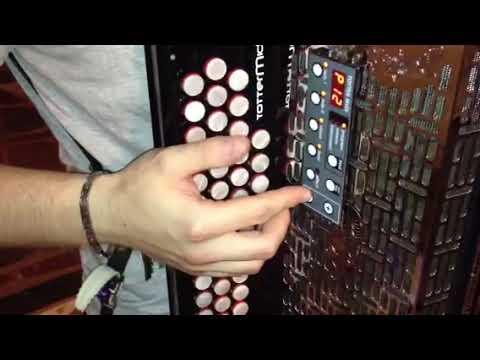 Diatonicna harmonika Kaps + totter midi modul