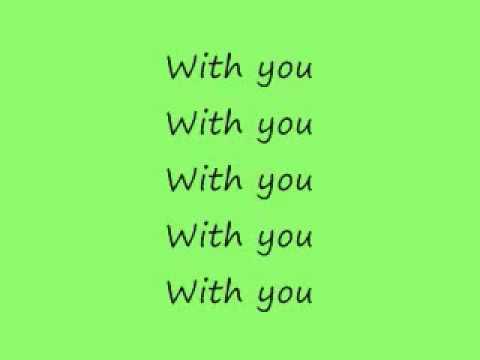 Chris Brown - With You (lyrics).flv video