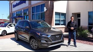 What makes the 2019 Hyundai Tucson Limited a standout SUV?