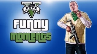 GTA 5 Funny Moments Ep. 6 (Stealing a tank)