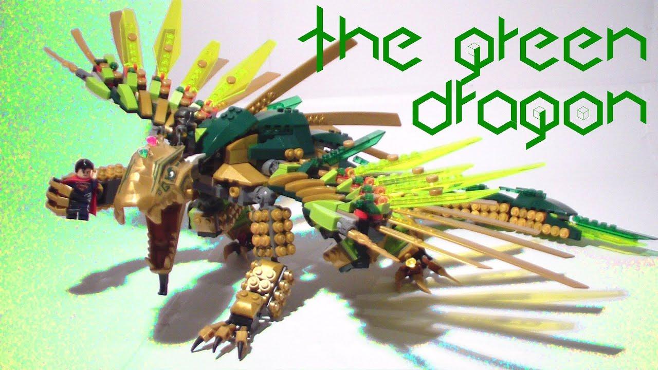 The green dragon lego moc youtube - Dragon ninjago lego ...