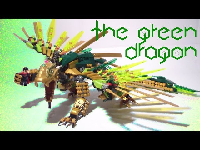 Green Ninjago Dragon The Green Dragon Lego Moc