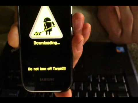 Samsung Galaxy S Vibrant Flashing tutorial Part 1