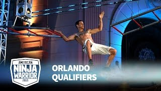 Flip Rodriguez at 2015 Orlando Qualifiers | American Ninja Warrior