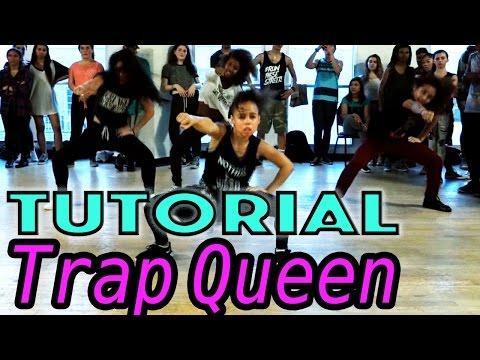 Trap Queen - Fetty Wap Dance Tutorial | mattsteffanina Choreography (beginner Hip Hop) video