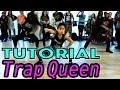 TRAP QUEEN - Fetty Wap Dance TUTORIAL | @MattSteffanina Choreography (Beginner Hip Hop) MP3