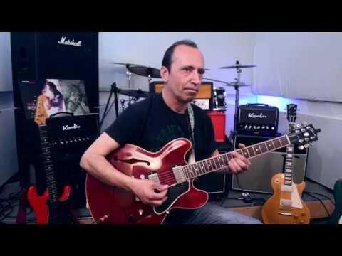 Akis Tourkogiorgis - Improvising On Minor Blues Scale & Natural Minor/Aeolian Mode