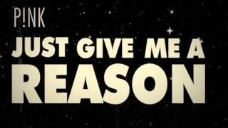 P!nk: Just Give Me A Reason Karaoke (Lower Key)