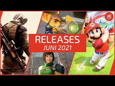 Neue SPIELE im JUNI 2021 für PS4, PS5, Xbox One, Xbox Series X, Nintendo Switch & PC