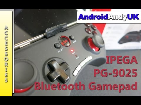 IPEGA PG-9025 Bluetooth Gamepad Review