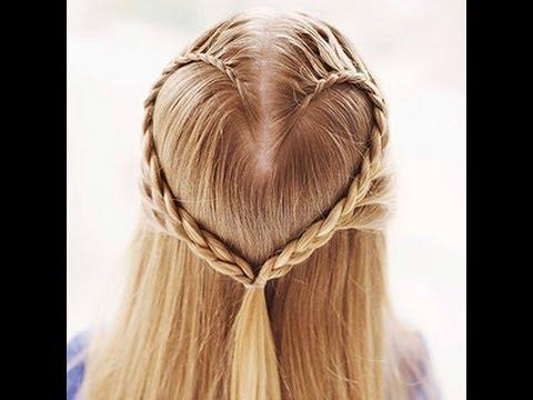 Peinado: Trenza de corazon