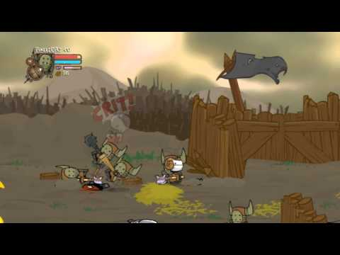 Castle Crashers #1 – A Guerra Barbara