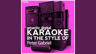 Solsbury Hill Karaoke Version