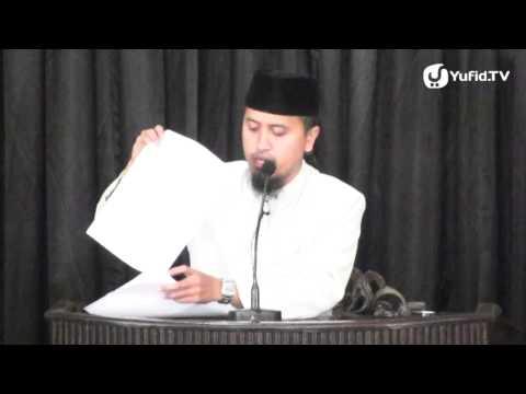 Kajian Ceramah Islam: Cinta Sejadi Kepada Sang Nabi - Ustadz Abdullah Zaen, MA
