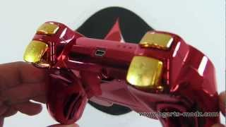 IRONMAN PS3 - LiMiTED EDITION - PS3 Controllers | HG Arts Modz