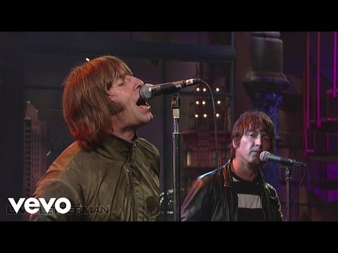 Beady Eye - Standing On The Edge Of The Noise (Live on Letterman)