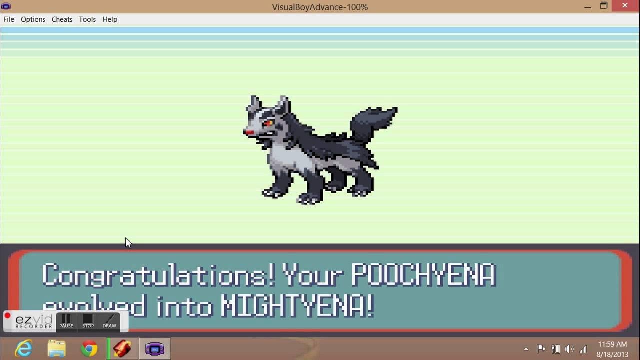 What Level Does Poochyena Evolve 8 Poochyena Evolves   2nd