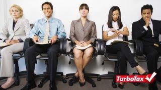 Deducciones para los Desempleados - TurboTax Tax Tip Video