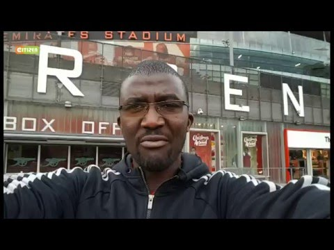 Citizen TV Sports secures exclusive access to the Arsenal's Emirates Stadium