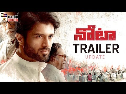 Vijay Devarakonda NOTA Movie TRAILER update | Mehreen Kaur | Sanchana Natarajan | Telugu Cinema