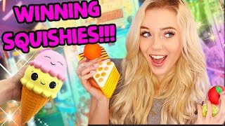 WINNING MORE SQUISHIES AT THE ARCADE!