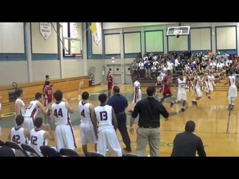Danny Rodriguez - Christopher Columbus High School Junior Basketball Highlights - 02/11/2014