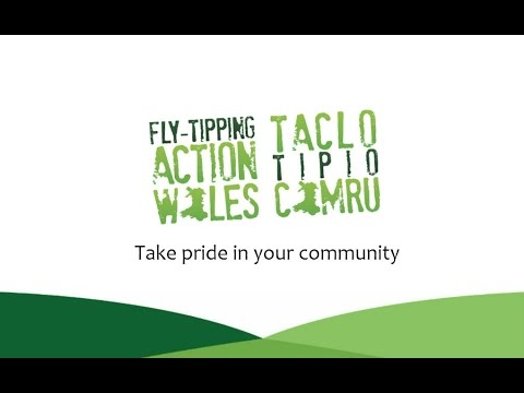 Take Pride in Your Community | Fly-tipping Action Wales