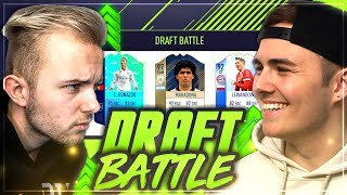 FIFA 18: BESTRAFUNGS Fut Draft BATTLE vs NoHandGaming 🔥🔥
