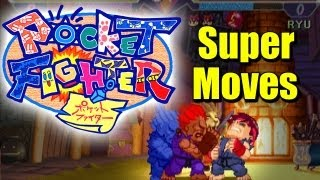 Super Gem Fighter Mini Mix Pocket Fighter All Super Moves
