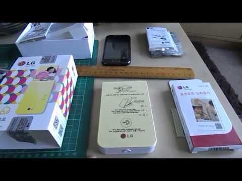 LG pocket photo PD239 - Review and walkthrough