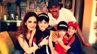 Hrithik Roshan Perfect Family  2014