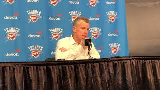 Thunder vs Jazz - Billy Donovan (Game 58 of 82)