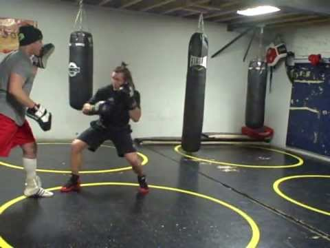 Lance Palmer counter punching