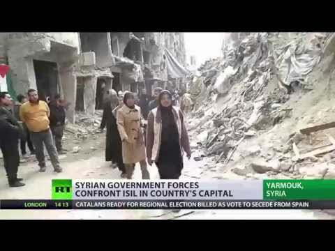 Damascus battleground: RT  reports from Syria frontline in Yarmouk