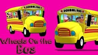 Bánh xe trên xe buýt | Vần điệu cho trẻ em | Bài thơ mẫu giáo | Children Rhymes | Wheels on the Bus