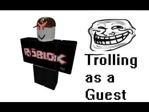 how to play as a guest on roblox 2018