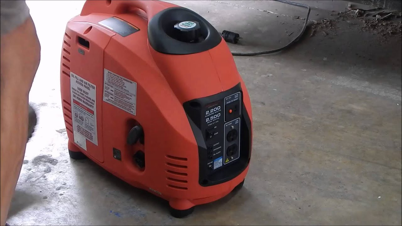 Predator Generator 2500 Predator Inverter Generator